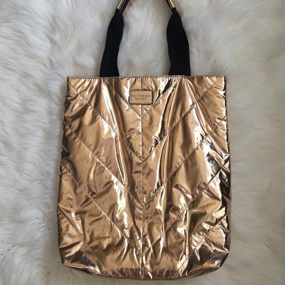 Victoria's Secret Handbags - Limited Edition Victoria's Secret Metallic Bag